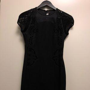 Black Cut Out/Mesh Stella McCartney Dress size 2